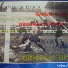 Coleccionismo deportivo: (F-180342)FOTOGRAFIA PARTIDO DE FOOT-BALL F.C.BARCELONA CAMPO DE LES CORTS - FOTO SPORT. Lote 114998947