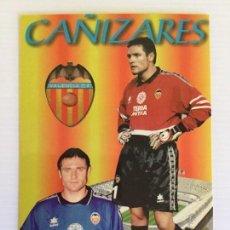 Coleccionismo deportivo: 14 POSTALES DE LOS JUGADORES DEL VALENCIA CF TEMPORADA 97/98. Lote 115007803