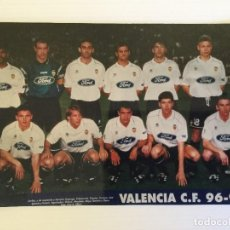 Coleccionismo deportivo: FOTO DEL VALENCIA CF PLANTILLA COMPLETA DEL 96/97. Lote 115008883