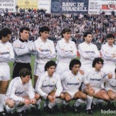 Coleccionismo deportivo - REAL MADRID: Fotografía de un equipo histórico - 115035275