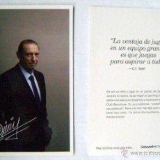 Coleccionismo deportivo: FOTO POSTAL DE ENRIQUE CASTRO QUINI. Lote 115334091