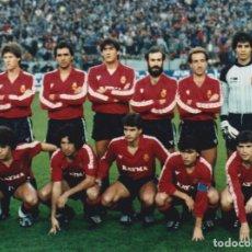 Coleccionismo deportivo: RCD. MALLORCA: FOTOGRAFÍA DE UN EQUIPO HISTÓRICO. Lote 115395563