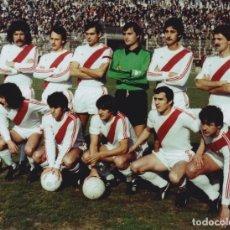 Coleccionismo deportivo: RAYO VALLECANO: FOTOGRAFÍA DE UN EQUIPO HISTÓRICO. Lote 115395771