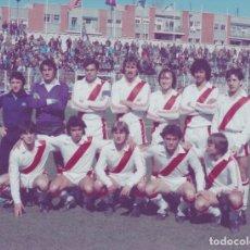 Collectionnisme sportif: RAYO VALLECANO: FOTOGRAFÍA DE UN EQUIPO HISTÓRICO. Lote 115395815