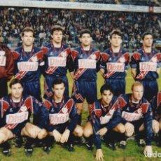 Coleccionismo deportivo: RAYO VALLECANO: FOTOGRAFÍA DE UN EQUIPO HISTÓRICO. Lote 115395991