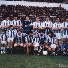 Coleccionismo deportivo: REAL SOCIEDAD: FOTOGRAFÍA DE UN EQUIPO HISTÓRICO. Lote 115396103