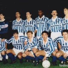Coleccionismo deportivo: REAL SOCIEDAD: FOTOGRAFÍA DE UN EQUIPO HISTÓRICO. Lote 115396175