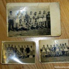 Coleccionismo deportivo: FOTOGRAFIAS ANTIGUAS FUTBOL VILLANOVENSE CF VINTAGE OLD SPANISH FOOTBALL PHOTOGRAPHS. Lote 115406903