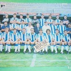 Coleccionismo deportivo: REAL CLUB DEPORTIVO ESPANYOL - ANTIGUA FOTOGRAFIA ORIGINAL DE EPOCA - EQUIPO ESPANYOL - 20X15 CM. . Lote 115547771