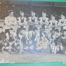 Coleccionismo deportivo: REAL CLUB DEPORTIVO ESPANYOL - ANTIGUA FOTOGRAFIA ORIGINAL DE EPOCA - EQUIPO ESPANYOL - 24X18 CM.. Lote 115548151