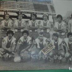 Coleccionismo deportivo: REAL CLUB DEPORTIVO ESPANYOL - ANTIGUA FOTOGRAFIA ORIGINAL DE EPOCA - EQUIPO ESPANYOL - 24X18 CM. . Lote 115548851