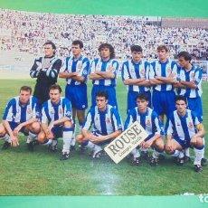 Coleccionismo deportivo: REAL CLUB DEPORTIVO ESPANYOL - ANTIGUA FOTOGRAFIA ORIGINAL DE EPOCA - EQUIPO ESPANYOL- 20,5X15 CM. . Lote 115553671