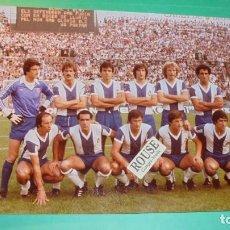 Coleccionismo deportivo: REAL CLUB DEPORTIVO ESPANYOL - ANTIGUA FOTOGRAFIA ORIGINAL DE EPOCA - EQUIPO ESPANYOL- 24X18CM. . Lote 115553955