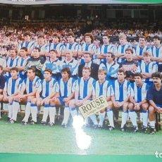 Coleccionismo deportivo: REAL CLUB DEPORTIVO ESPANYOL - ANTIGUA FOTOGRAFIA ORIGINAL DE EPOCA - EQUIPO ESPANYOL- 30X20,5CM. . Lote 115554455
