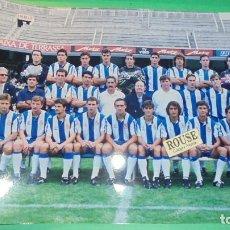 Coleccionismo deportivo: REAL CLUB DEPORTIVO ESPANYOL - ANTIGUA FOTOGRAFIA ORIGINAL DE EPOCA - EQUIPO ESPANYOL- 30,5X20,CM. . Lote 115556231