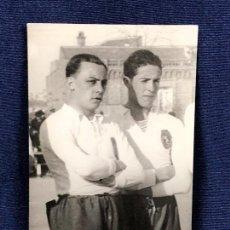 Coleccionismo deportivo: FOTOGRAFIA FUTBOL PRIMER ESPAÑA PORTUGAL 1921 FOTO ALVARO ATLETICO POSTAL EN VENTA. Lote 117184403