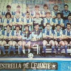 Coleccionismo deportivo: PÓSTER DE FÚTBOL 1983/84. Lote 116652308