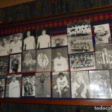 Coleccionismo deportivo: ARCHIVO FOTÓGRAFO DEPORTIVO PUCHE, 44 FOTO MARADONA RONALDO QUINI RAÚL BUTRAGUEÑO SUKER CASILLAS.... Lote 117529195