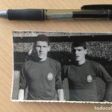 Coleccionismo deportivo - Foto Paquito y Glaria.Seleccion Española. Eurocopa 64 - 117734859