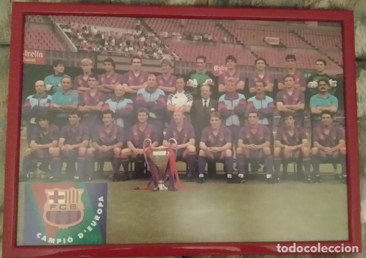 FC BARCELONA - PLANTILLA COPA DE EUROPA 1992 (Coleccionismo Deportivo - Documentos - Fotografías de Deportes)