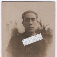 Coleccionismo deportivo: (ALB-TC-23) FOTOGRAFIA DE MIQUEL PALOU CAMPIO D'ESPANYA CROS 1925 1926 FOTO MAYMO FEDERACIO CATALANA. Lote 119505355