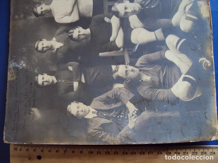 Coleccionismo deportivo: (F-180510)FOTOGRAFIA GRAN TAMAÑO EQUIPO FOOT-BALL ARMSTRONG COLLEGE UNIVERSITY OF DURHAM(INGLATERRA) - Foto 5 - 119967159