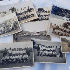 Coleccionismo deportivo: LOTE 9 FOTOGRAFÍAS DE FUTBOL(DESCONOZCO EQUIPOS). Lote 120010776