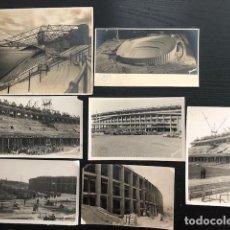 Coleccionismo deportivo: FOTOGRAFIAS CONSTRUCCION CAMP NOU FCB. Lote 120017327