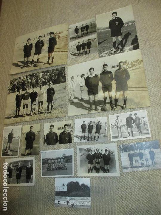 LOTE 16 FOTOS DE UN ÁRBITRO DE FÚTBOL DE SANTANDER, AÑOS 60 (Coleccionismo Deportivo - Documentos - Fotografías de Deportes)