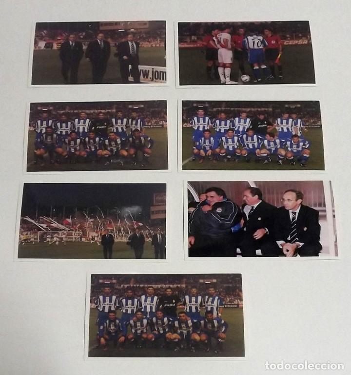 7 FOTOGRAFÍAS ORIGINALES DE PRENSA DEPORTIVO DE LA CORUÑA Y JAVIER IRURETA (Coleccionismo Deportivo - Documentos - Fotografías de Deportes)