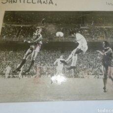Coleccionismo deportivo: FÚTBOL SELECCIÓN DE ESPAÑA REAL MADRID SANTILLANA. Lote 122562883