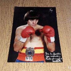 Coleccionismo deportivo: ANTIGUA FOTOGRAFÍA DE JESÚS MATILLA....BOXEADOR....BURGOS..AÑOS 80.... Lote 123512667