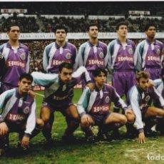 Coleccionismo deportivo: REAL VALLADOLID: FOTOGRAFÍA HISTÓRICA.. Lote 128488926