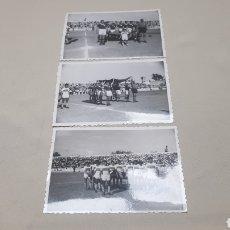 Coleccionismo deportivo: ANTIGUAS FOTOS AÑOS 50 - 60 DE UN PARTIDO ENTRE EL ELCHE Y AL PARECER CONTRA UN EQUIPO INGLES.. Lote 124587888
