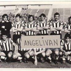 Coleccionismo deportivo: FOTOGRAFIA PRENSA REAL BALOMPEDICA LINENSE.TEMP.74/75.. Lote 125164619
