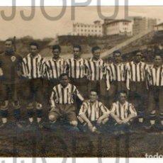 Coleccionismo deportivo: EL SPORTING DE GIJON QUE JUGÓ CON EL VIGO. MADRID 10 ABRIL 1928. FOTO CERVERA. ASTURIAS. Lote 125307611