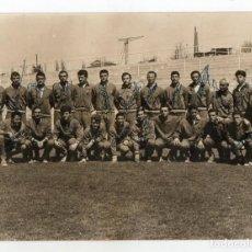 Coleccionismo deportivo: SELECCIÓN ESPAÑOLA DE FUTBOL. 1962. FIRMADA POR LOS JUGADORES. ESPAÑA.. Lote 132633047
