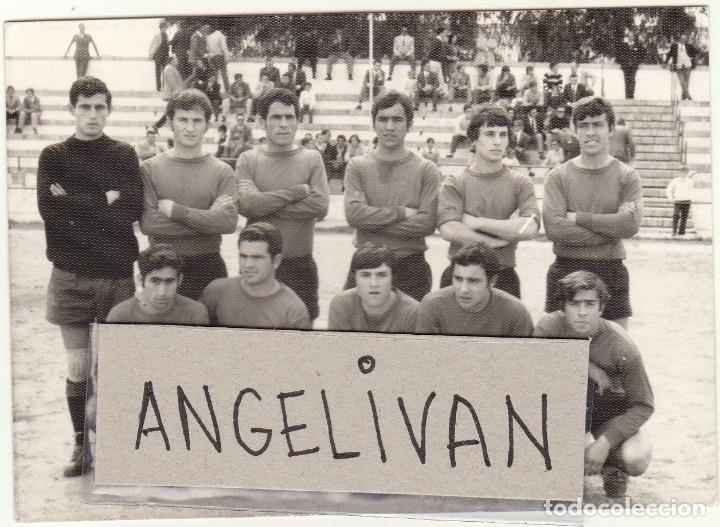 FOTOGRAFIA PRENSA.AYAMONTE.CF.FUTBOL. (Coleccionismo Deportivo - Documentos - Fotografías de Deportes)