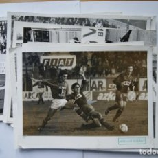 Coleccionismo deportivo - LOTE DE 11 FOTOS FUTBOL LUGO, PONTEVEDRA, MERIDA, CAMBADOS... 20 X 25 CM - 128621015
