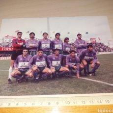 Colecionismo desportivo: ANTIGUA FOTOGRAFÍA DEL MALAGA CF - SELLO FOTO GARRIGA - TENERIFE. Lote 129392528