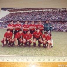 Colecionismo desportivo: ANTIGUA FOTOGRAFÍA DEL MALLORCA FC - SELLO FOTO GARRIGA - TENERIFE. Lote 129392907