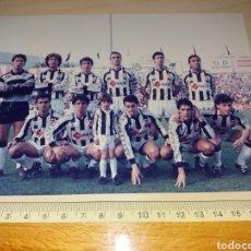 Colecionismo desportivo: ANTIGUA FOTOGRAFÍA DEL CD CASTELLÓN - SELLO FOTO GARRIGA - TENERIFE. Lote 129393302