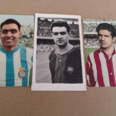 Coleccionismo deportivo: 3 FOTOGRAFÍAS UNA DE VERGES, OTRA DE RIVILLA Y DE ARGILES. Lote 130603643