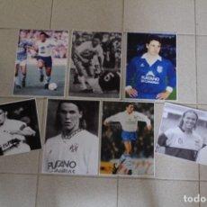 Coleccionismo deportivo: LOTE 7 FOTOGRAFÍAS FÚTBOL. FERNANDO REDONDO. ÉPOCA EN EL CD TENERIFE.. Lote 118922875