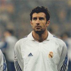 Coleccionismo deportivo: FOTOGRAFIA FIGO.REAL MADRID.. Lote 131094544