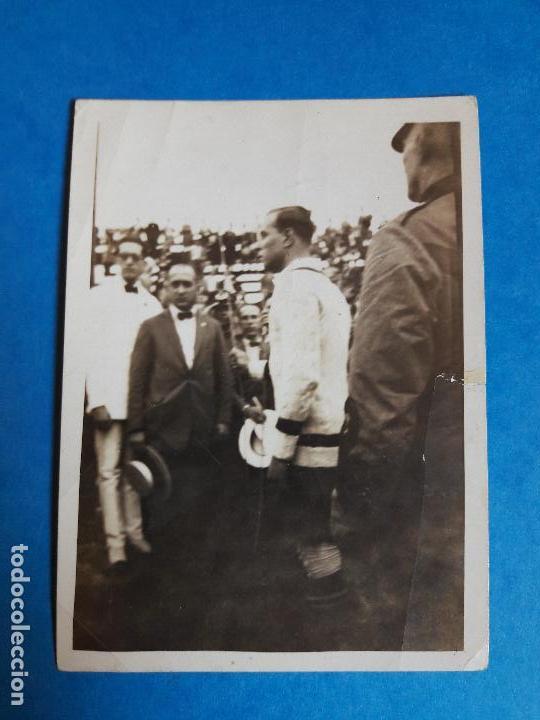 Coleccionismo deportivo: LOTE 2 FOTOGRAFIAS RICARDO ZAMORA RCD ESPANYOL ESPAÑOL AÑOS 20 - Foto 2 - 134535415