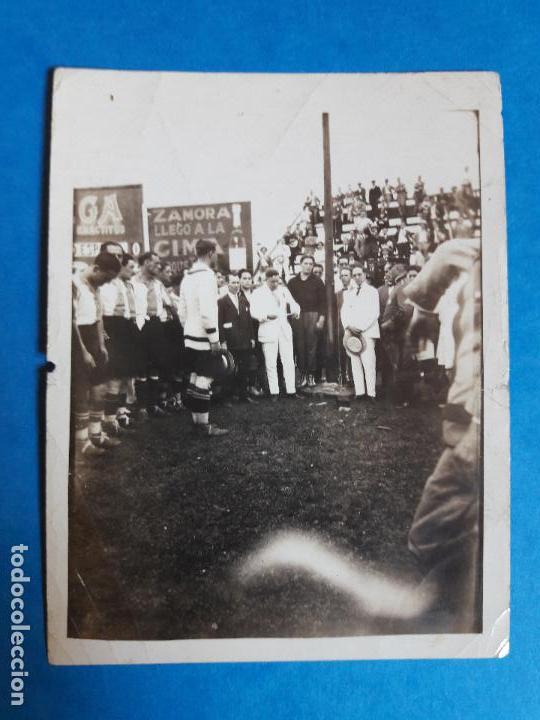 Coleccionismo deportivo: LOTE 2 FOTOGRAFIAS RICARDO ZAMORA RCD ESPANYOL ESPAÑOL AÑOS 20 - Foto 3 - 134535415