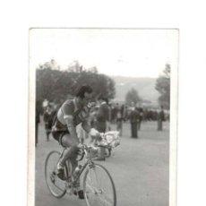 Coleccionismo deportivo: FIN DE LA VUELTA CICLISTA A ESPAÑA META 1956. MARIGIL. Lote 131698522