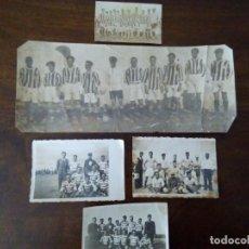 Sammelleidenschaft Sport - Lote 5 Antiguas Fotografías Principios de Siglo XX de Equipos Fútbol. Originales. Portugal? - 131887634
