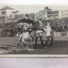 Coleccionismo deportivo: FOTOGRAFIA ORIGINAL LIGA 1947-1948 PARTIDO FUTBOL ENTRE GIMNASTIC TARRAGONA -REAL SOCIEDAD. Lote 132014182